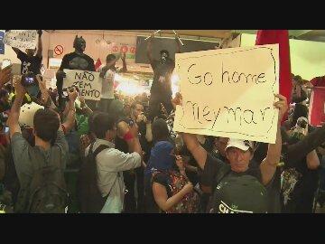Protestas en ...